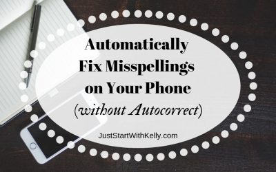 How to Correct Your Spelling on Devices (without Autocorrect)