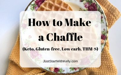 How to Make a Chaffle Recipe (Gluten-free, Keto, Low Carb, THM S)